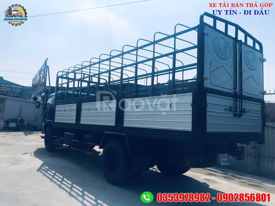 Xe chiến thắng 7 tấn thùng dài 6.7 mét, xe tải 7 tấn thanh lý