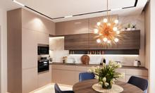 Tủ bếp gỗ melamine an cường - đóng tủ bếp gỗ An Cường