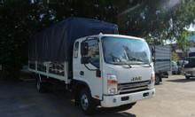 Giá xe tải jac N700 7 tấn thùng bạt động cơ cummin nhập 2020