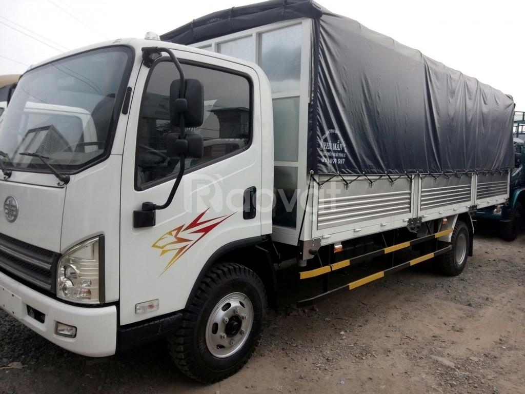 Xe tải faw 7.3 tấn giá rẻ Bình Dương, thùng dài 6m2