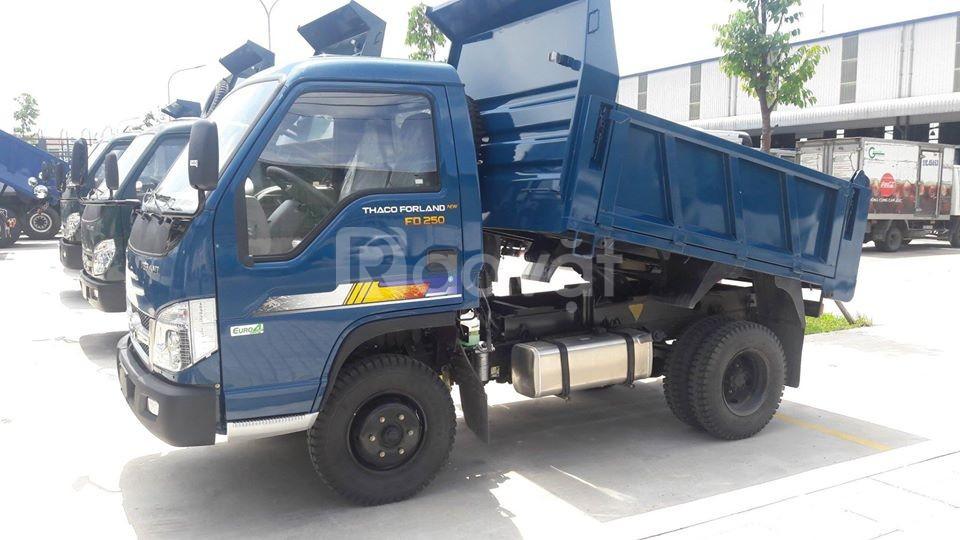 Bán xe ben Thaco Forland FD250
