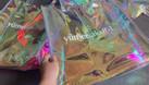 Xưởng ép túi nhựa dẻo trong suốt, đặt may túi nhựa dẻo zipper pvc (ảnh 7)