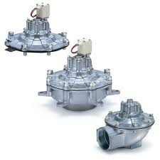 Van điện từ 2 cổng, van tác động khí dùng cho giũ bụi dòng VXF2VXFA2
