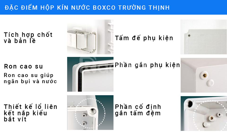 Hộp kín nước boxco 005 | waterproof box ip67