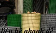 Lưới thép hàn phi 3 mạ kẽm, lưới thép hàn dạng cuộn, lưới thép hàn