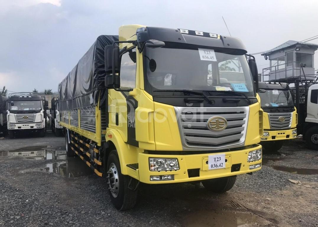 Bán xe tải faw nhập khẩu 7 tấn thùng bạt thùng dài 10m