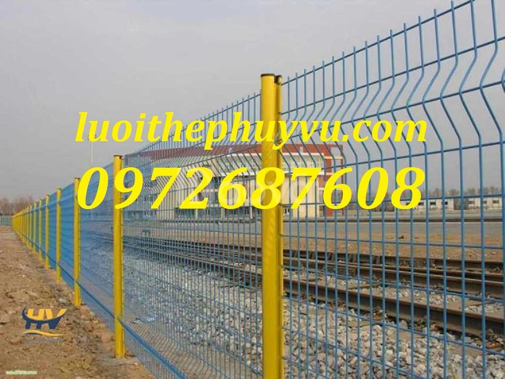 Hàng rào lưới thép, hàng rào mạ kẽm, lưới thép hàng rào