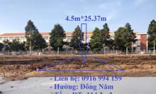 114.2m2 đất thổ cư Quận Bình Thuỷ gần trường, gần chợ giá rẻ bất ngờ