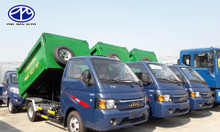 Giá bán xe chở rác mini 3 khối giá rẻ - Thanh lý xe ép rác 3.5 khối