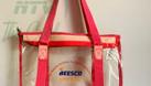 Xưởng ép túi nhựa dẻo trong suốt, đặt may túi nhựa dẻo zipper pvc (ảnh 1)