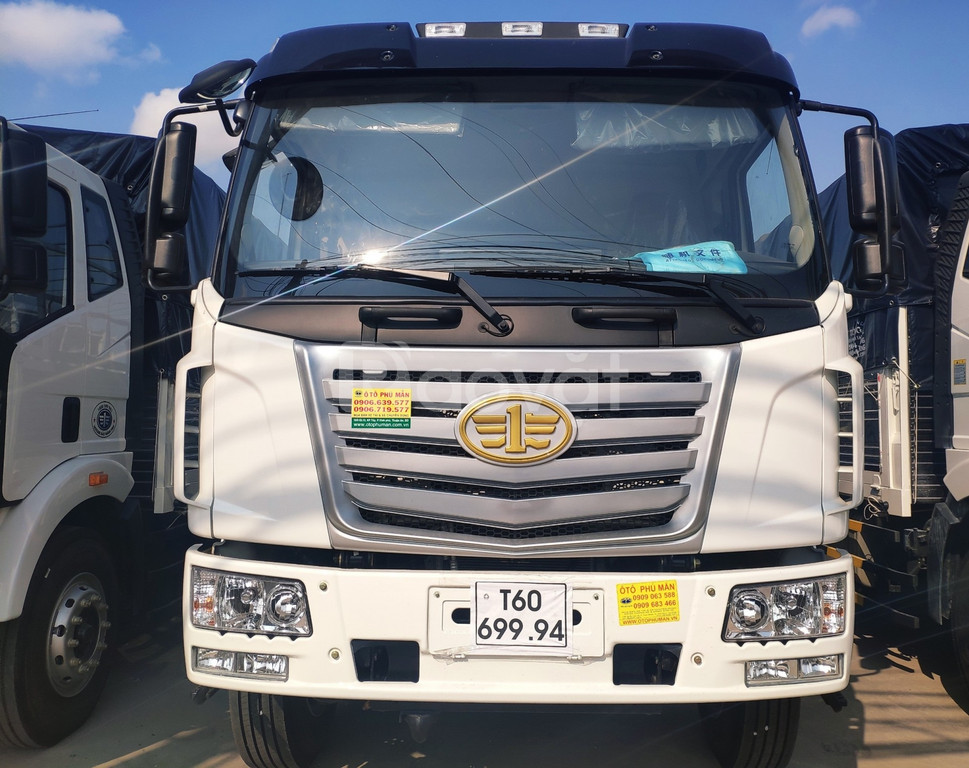 Xe tải faw thùng dài nhập khẩu| Xe tải 7 tấn thùng dài 9m6