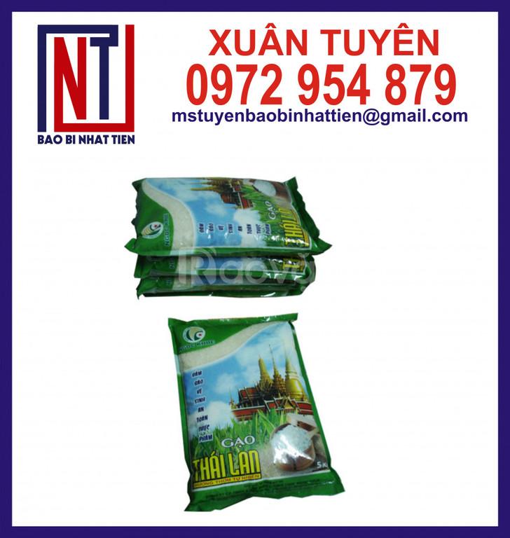Chuyên in túi đựng gạo 5kg