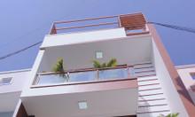 Bán nhà đẹp giá rẻ thị trấn Nhà Bè 5x11, 3 lầu, nhà đẹp ở liền