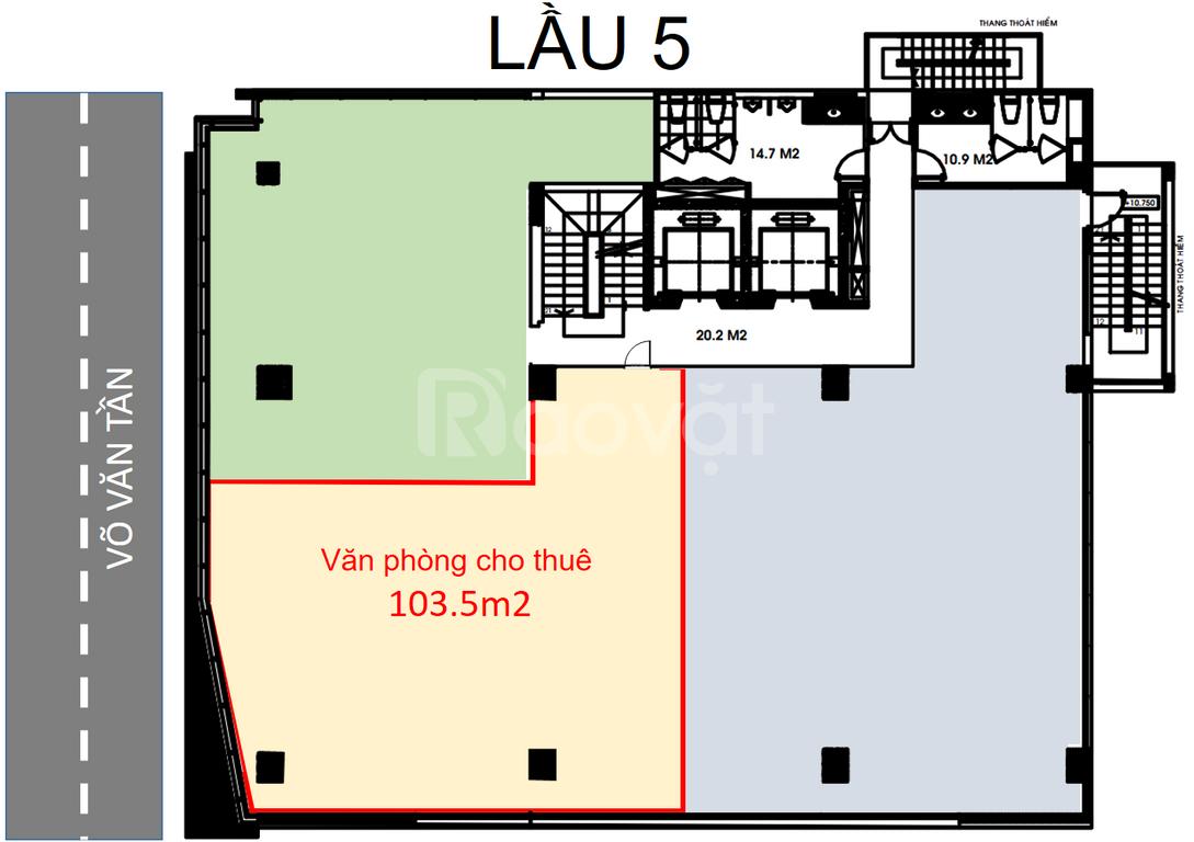 Văn phòng cho thuê quận 3 THCM chất lượng, giá hợp lý