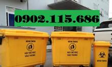 Xe thu gom rác 660l bằng nhựa, xe thu gom rác cỡ lớn,