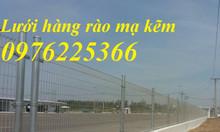Lưới thép mạ kẽm, hàng rào mạ kẽm, hàng rào sơn tĩnh điện