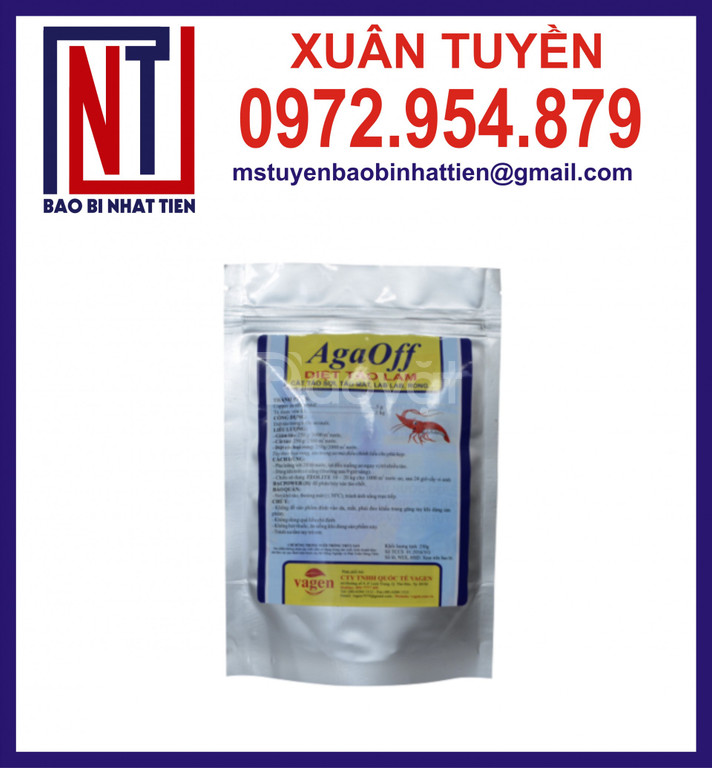Túi AL đựng 1kg thuốc thú y thủy sản