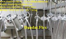 Dây mềm khí nén vòi dầu, khớp nối mềm inox dẫn xăng dầu, khớp nối mềm
