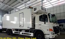 Xe tải Hino 500 FL - Thùng Đông Lạnh Quyền 7m7