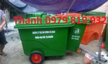 Cung cấp xe thu gom rác, xe thu gom chất thải 660l 1000l