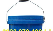 Bán thùng sơn 18 lít màu tím tròn , thùng đựng sơn nước 18 lít vàng