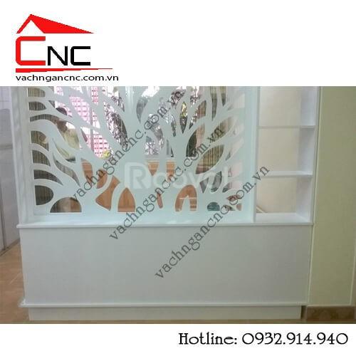 Kết nối nội thất với vách ngăn trang trí phòng khách (ảnh 5)