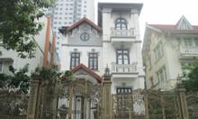 CC bán biệt thự BT4 BT5 KĐT Linh Đàm, view hồ Linh Đàm 300m2x4T