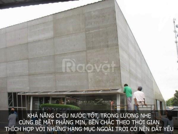 Tấm xi măng nhẹ mua ở đâu giá rẻ, chất lượng tại Bình Định