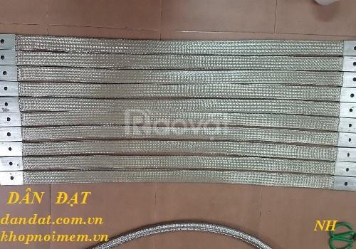 Sản xuất dây đồng bện tiếp địa, thanh đồng bện, dây đồng bện mạ kẽm (ảnh 5)