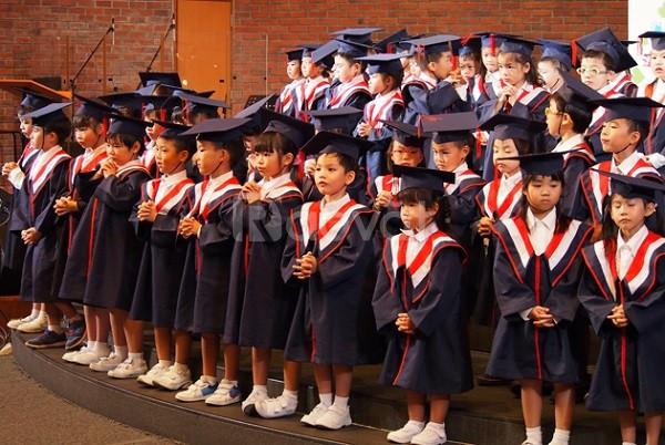 Cho thuê áo tốt nghiệp mầm non, áo cử nhân, lễ phục tốt nghiệp