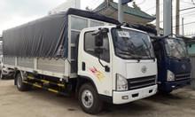 Xe tải 8 tấn ga cơ, xe tải faw 8 tấn máy hyundai thùng dài 6m3.