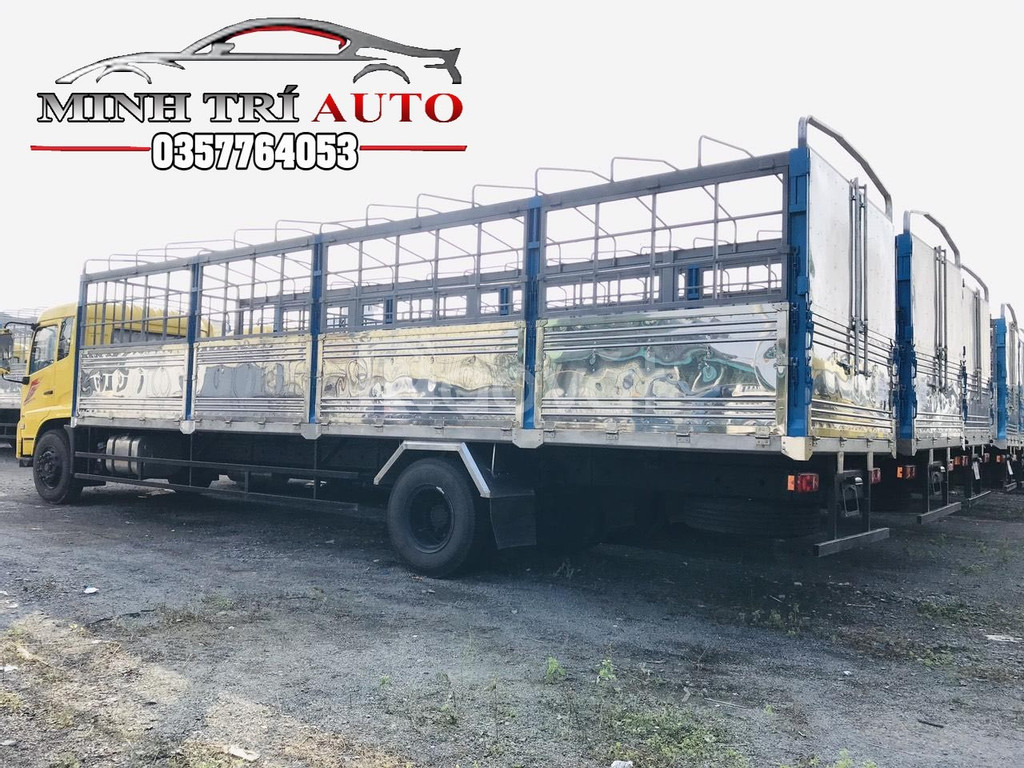 Giá xe tải dongfeng hoàng huy b180 9 tấn -8 tấn thùng 9m5 và 7m5