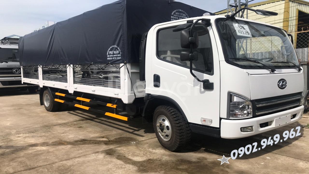 Xe tải Faw 7 tấn 3 ~ faw 7t3 faw máy Hyundai D4DB + 415.000.000VNĐ