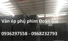 Ván ép cốp pha phủ phim tại Hà Tĩnh