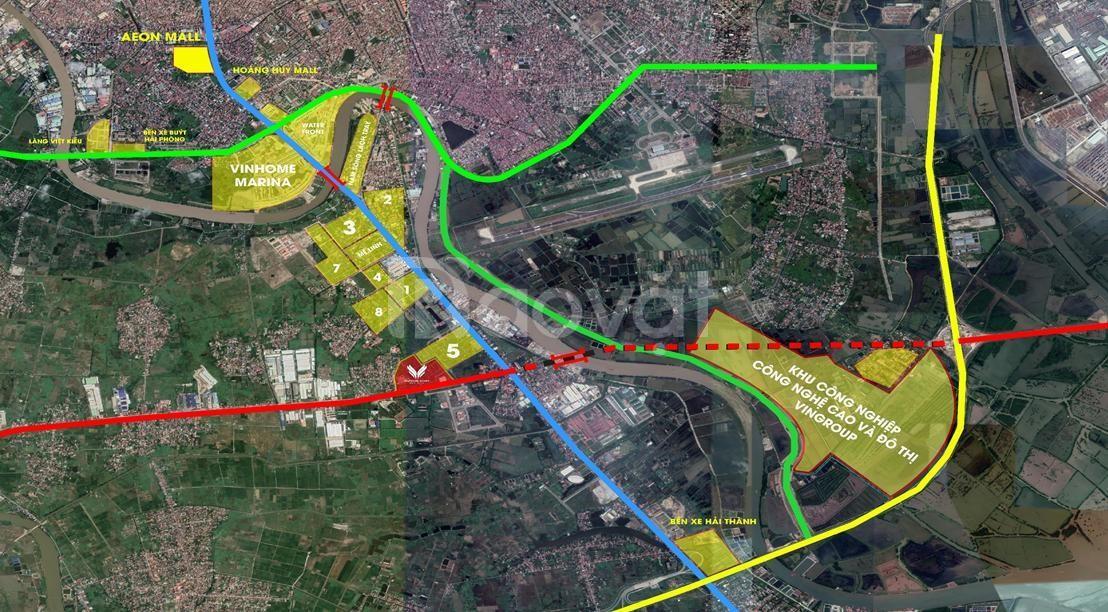 Đất nền trung tâm thành phố Hải Phòng