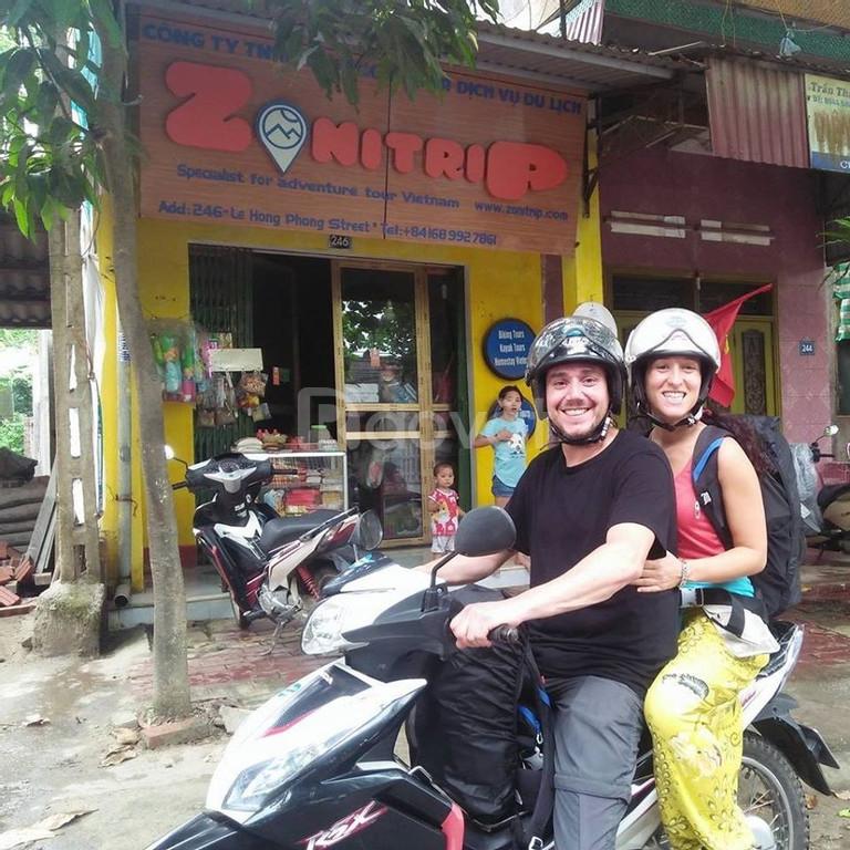 Cho thuê xe máy ở Yên Bái uy tín, chất lượng