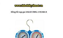Bộ đồng hồ nạp gas lạnh value vmg-2-r134a-b