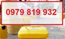 Cung cấp thùng rác đạp chân y tế 25l 30l màu vàng