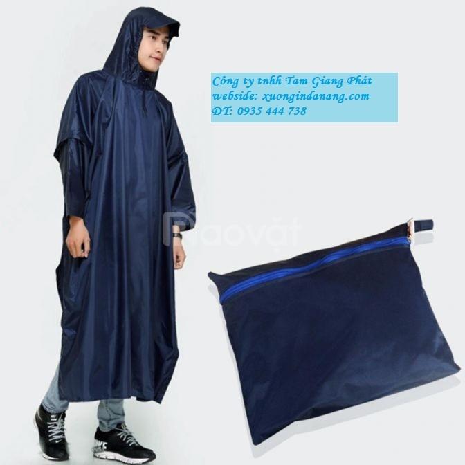 Xưởng in áo mưa quảng cáo tại Quảng Nam,giá hấp dẫn