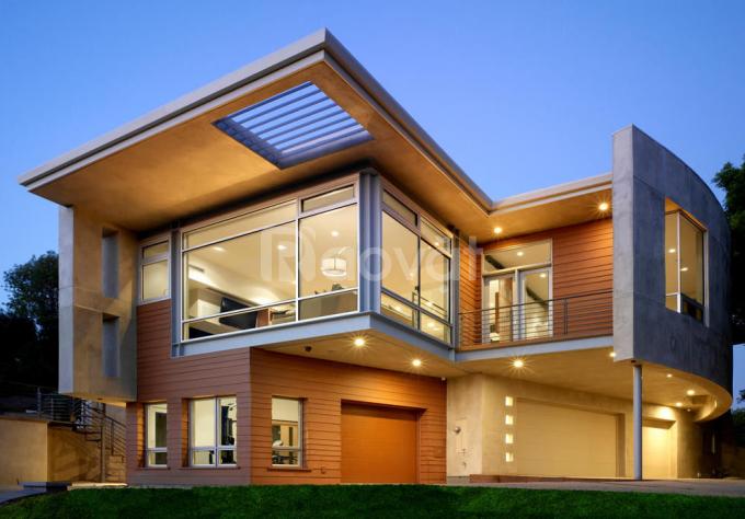 Mẫu nhà khung thép tiền chế 2 tầng đẹp - 5S Architect (ảnh 6)