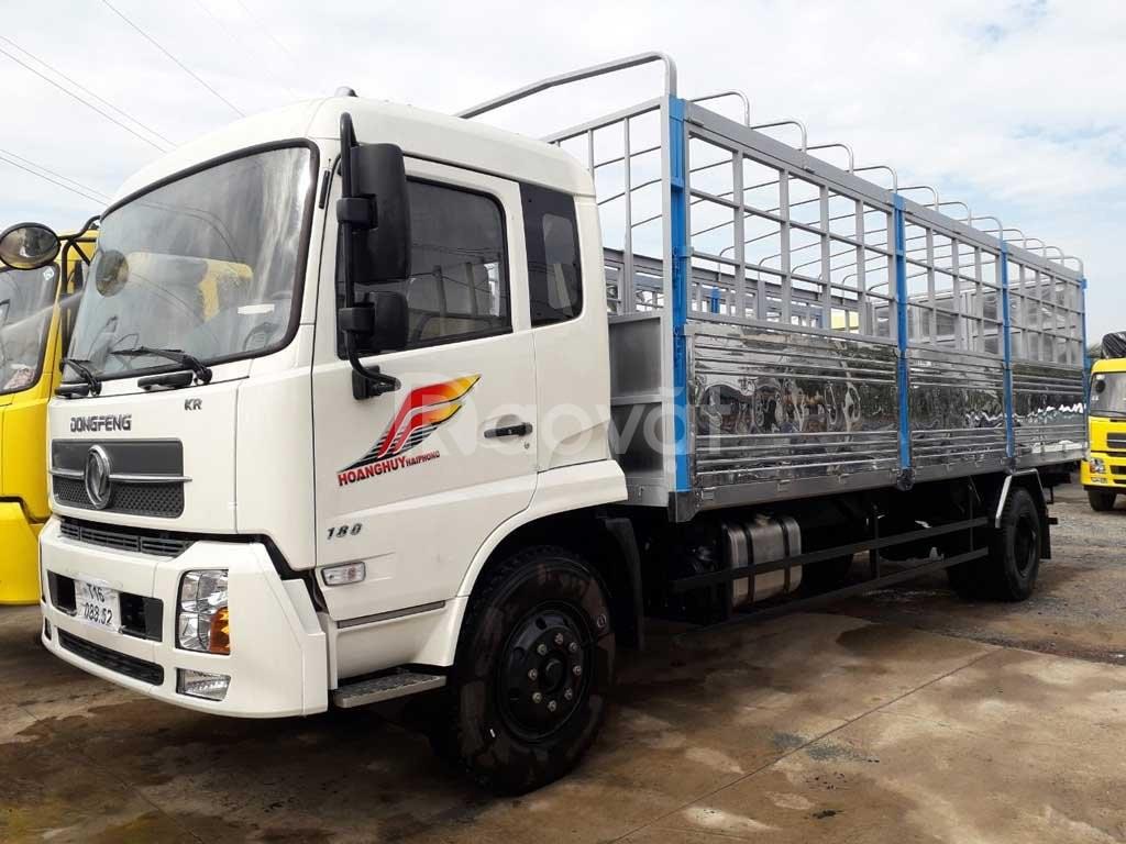Bán xe tải dongfeng 9 tấn b170 thùng bạt 7.5 mét nhập khẩu