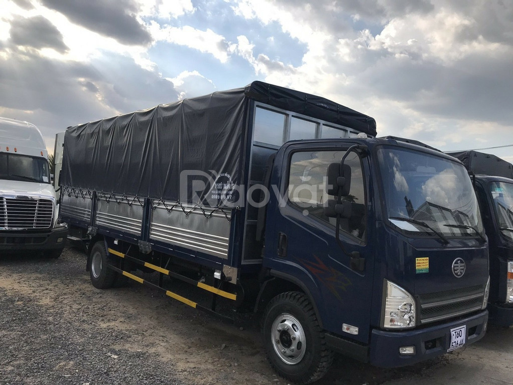 Đại lý xe tải faw 7.3 tấn động cơ hyundai nhập- Khuyến mãi 10 triệu