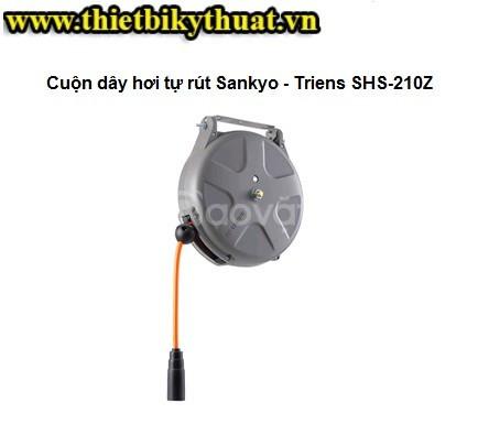Cuộn dây hơi tự rút sankyo triens SHS-210Z (ảnh 1)