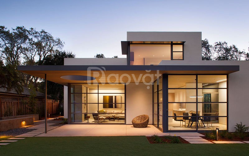 Mẫu nhà khung thép tiền chế 2 tầng đẹp - 5S Architect (ảnh 1)