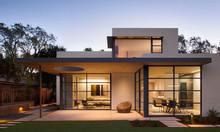 Mẫu nhà khung thép tiền chế 2 tầng đẹp - 5S Architect