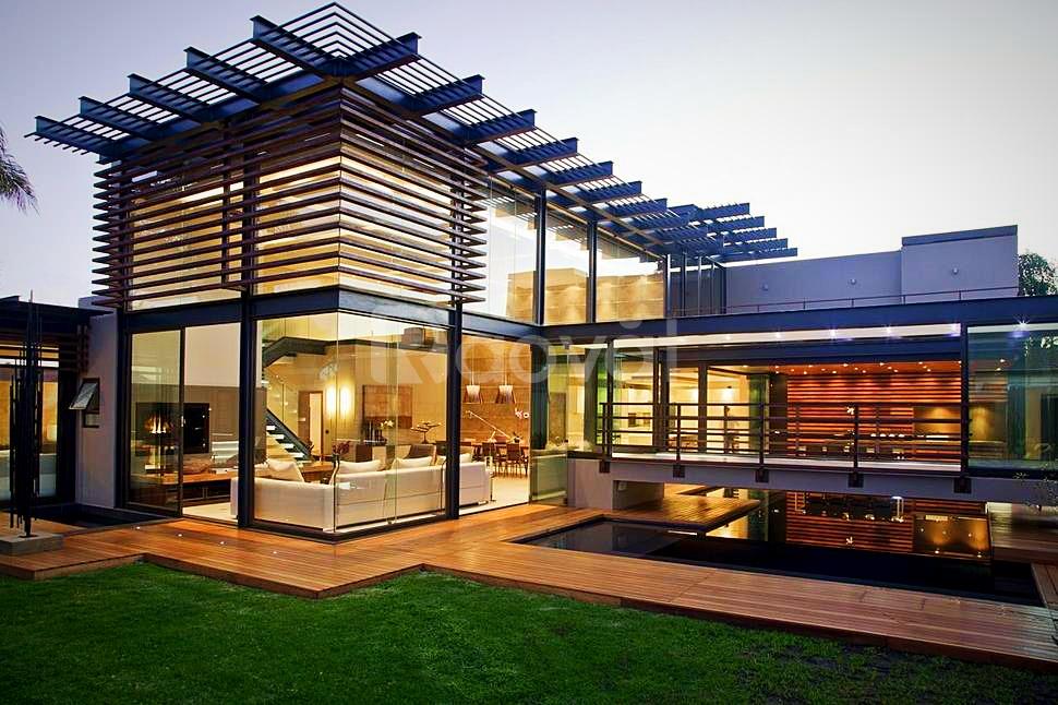 Mẫu nhà khung thép tiền chế 2 tầng đẹp - 5S Architect (ảnh 7)
