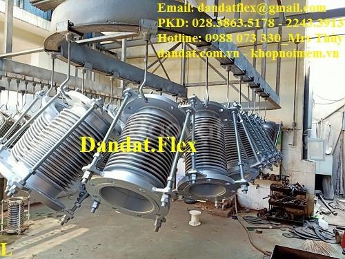 Ống giản nở nhiệt inox dùng cho khí, hơi nóng - khớp co giãn (ảnh 5)