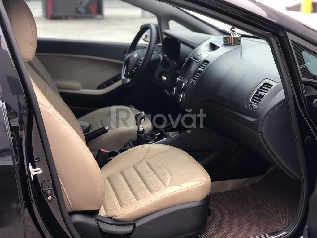 Kia Cerato 2018, màu đen, số sàn xe chất lượng