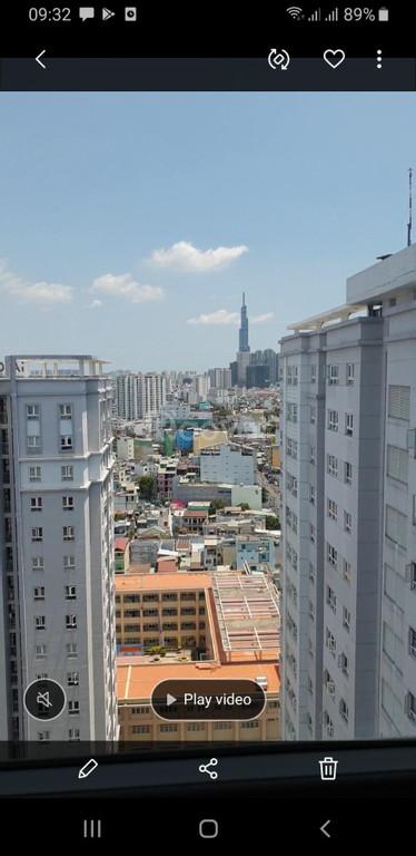 Cho thuê căn hộ chung cư 2PN  saigonRes, đường Nguyễn Xí, Bình Thạnh
