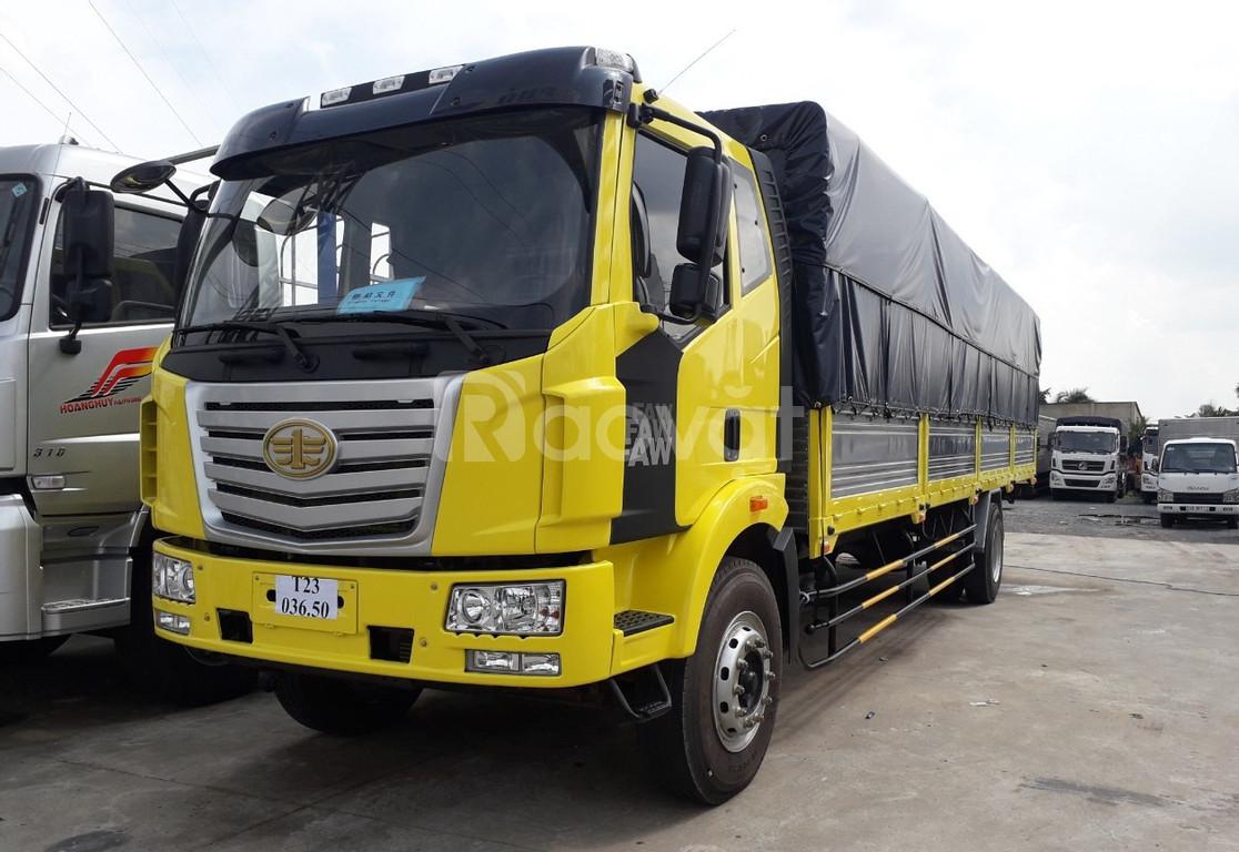 Xe tải faw thùng dài- xe faw 7 8 tấn- xe faw trả góp